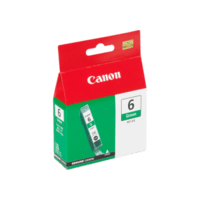 Genuine Canon BCI-6 Green Ink Cartridge. Page Yield 370 pages