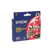 Genuine Epson T0473 Magenta Ink Cartridge Page Yield: 250 pages