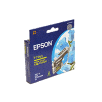 Genuine Epson T0562 Cyan Ink Cartridge Page Yield: 290 pages
