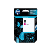 Genuine HP No 11 Magenta Ink Cartridge C4837A.  Page Yield: 1830 pages