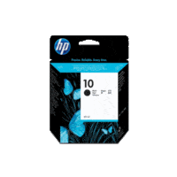 Genuine HP No 10 Black Ink Cartridge C4844A.  Page Yield: 1430