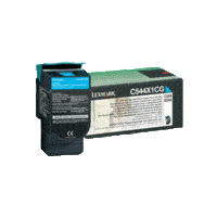 Genuine Lexmark C544X1CG Cyan Toner Cartridge Extra High Yield