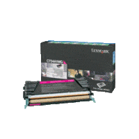 Genuine Lexmark C734A1MG Magenta Toner Cartridge