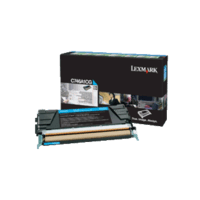 Genuine Lexmark C746A1CG Cyan Toner Cartridge