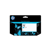 Genuine HP No 72 C9371A High Yield Cyan Ink Cartridge.  Page Yield: 130ml