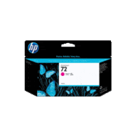 Genuine HP No 72 C9372A High Yield Magenta Ink Cartridge.  Page Yield: 130ml