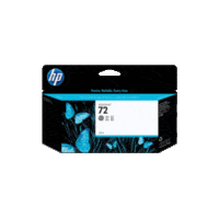 Genuine HP No 72 C9374A High Yield Photo Grey Ink Cartridge.  Page Yield: 130ml