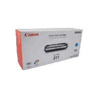 Genuine Canon 311 Cyan Toner Cartridge. Page Yield 6000 pages