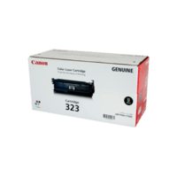 Genuine Canon 323 Black Toner Cartridge. Page Yield 5000 pages