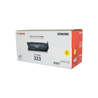 Genuine Canon 323 Yellow Toner Cartridge. Page Yield 8500 pages