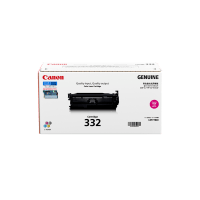 Genuine Canon 332 Magenta Toner. Page Yield 6400 pages