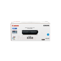 Genuine Canon 335II Cyan Toner High Yield. Page Yield 16500 pages