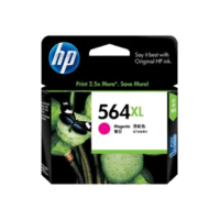Genuine HP No. 564XL Magenta Ink Cartridge CB324WA.  Page Yield: 750 pages