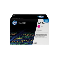 Genuine HP 642A Magenta Toner Cartridge CB403A.  Page Yield: 7500 pgs