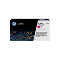 Genuine HP 507A Magenta Toner Cartridge CE403A.  Page Yield: 6000 pages