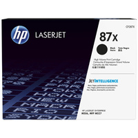 Genuine HP 87X Toner Cartridge High Yield CF287X.  Page Yield: 18000 pages