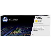 Genuine HP 508X Yellow Toner High Yield CF362X.  Page Yield: 9500 pages