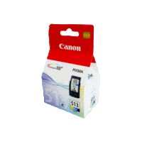 Genuine Canon CL-513 Colour Ink Cartridge. Page Yield 349 pages