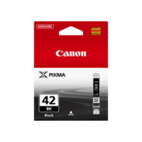 Genuine Canon CLI-42 Black Ink Cartridge. Page Yield 65 pages A3+