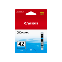 Genuine Canon CLI-42 Cyan Ink Cartridge. Page Yield 58 pages A3+