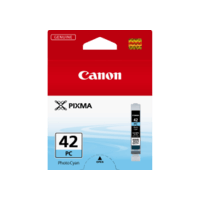 Genuine Canon CLI-42 Photo Cyan Ink Cartridge. Page Yield 60 pages A3+