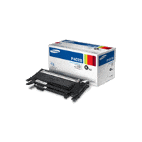 Genuine Samsung CLT-P407B Black Toner Cartridge Twin Pack Page Yield: 1500 pages x 2