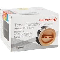Genuine Fuji Xerox CT201610 Black Toner Cartridge High Yield Page Yield 2200