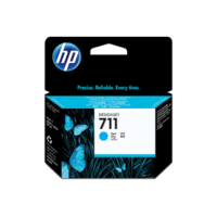 Genuine HP No 711 CZ130A Cyan Ink Cartridge.  Page Yield: 29ml