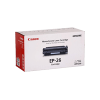 Genuine Canon EP26 Toner Cartridge. Page Yield 2500 pages
