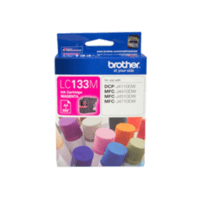 Genuine Brother LC-133 Magenta Ink Cartridge