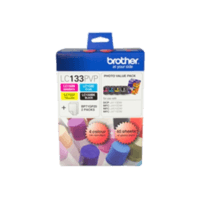 Genuine Brother LC-133 Photo Ink Cartridge Value Pack