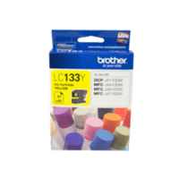 Genuine Brother LC-133 Yellow Ink Cartridge