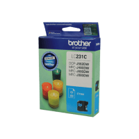 Genuine Brother LC-231C Cyan Ink Cartridge