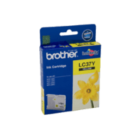 Genuine Brother LC-37 Yellow Ink Cartridge