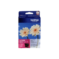 Genuine Brother LC-39 Magenta Ink Cartridge
