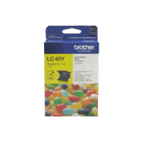 Genuine Brother LC-40 Yellow Ink Cartridge