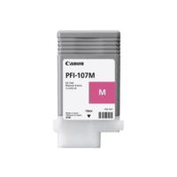Genuine Canon PFI107M Magenta Ink Cartridge. Page Yield 130ml