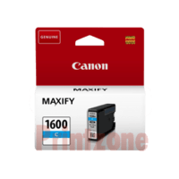 Genuine Canon PGI-1600C Cyan Ink Cartridge. Page Yield 300 pages