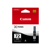 Genuine Canon PGI-72 Matte Black Ink Cartridge. Page Yield 202 pages A3+