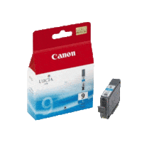Genuine Canon PGI-9 Cyan Ink Cartridge. Page Yield 79 pages