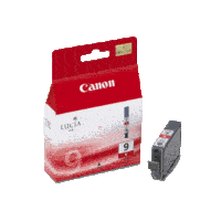 Genuine Canon PGI-9 Red Ink Cartridge. Page Yield 104 pages