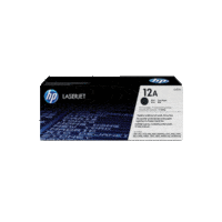 Genuine HP 12A Toner Cartridge Q2612A.  Page Yield: 2000 pages