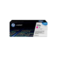 Genuine HP 122A Magenta Toner Cartridge Q3963A.  Page Yield: 4000 pages