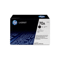 Genuine HP 70A Toner Cartridge Q7570A.  Page Yield: 15000 pages