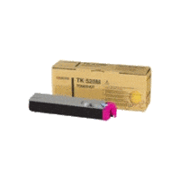 Genuine Kyocera TK-520M Magenta Toner Cartridge Page Yield: 4000 pages