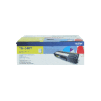 Genuine Brother TN-340Y Yellow Toner